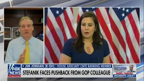 Jim Jordan endorses Elise Stefanik for GOP Chair