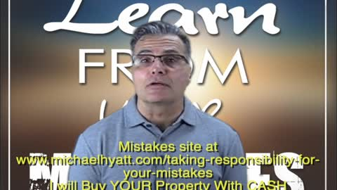 MISTAKES wants to BUY YOUR Property