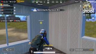 Pubg Mobile Game Super Hero 1 Player in Team Till Chicken Winner End With AKM