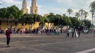 Disturbios en el Palacio de Justica
