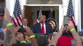 TRUMP MAKES REMARKS TO NYC POLICE BENEVOLENT ASSOC