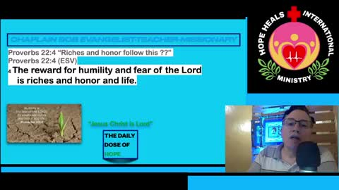 Riches and honor follow this ??