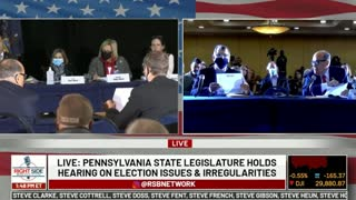 Witness in PA Election Hearing STUNS, Says Anomaly Gave Biden Nearly 600K Votes