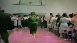 Pierce City High School Graduation - 1985
