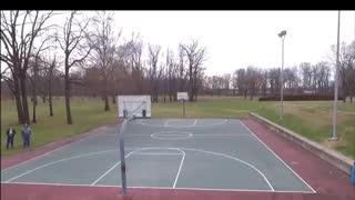 Park Drone Flight
