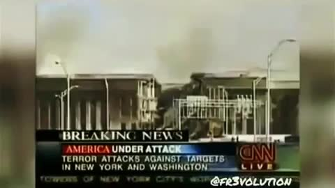 CNN Reporter on the Scene of the 911 Pentagon Attack Reports No Sign of Plane Wreckage