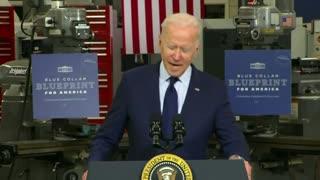 Biden's Brain Melts While Giving Speech On Economy