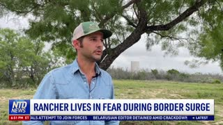 Rancher Lives in Fear During Border Surge