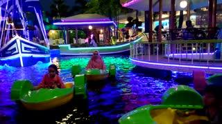Best Night Lights Video - Sparkling on water