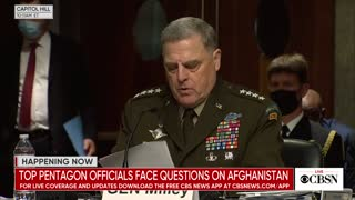 General Milley details his call with Speaker Pelosi about Trump