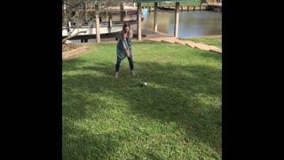 Golfing Gender Reveal Fail