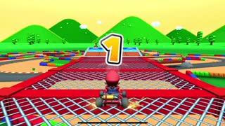 Mario Kart Tour - Metal Mario Cup Glider Challenge Gameplay