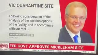 Australian Government Has Officially Authorized COVID Internment Camps