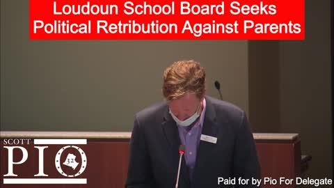 Loudoun County School Board Seeks Political Retribution