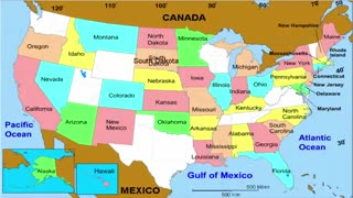 United States of America 50 States and Capitals