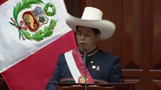 Castillo anuncia un proyecto de ley para convocar una Asamblea Constituyente