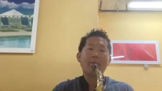 Say you won't let go sax cover
