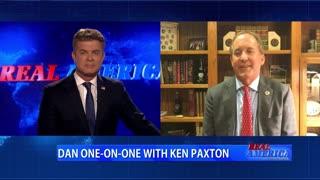 Real America - Dan W/ AG Ken Paxton (July 1, 2021)
