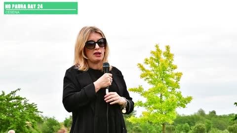NO PAURA DAY 24, Cesena 22/5/2021, intervento di Francesca Totolo, saggista
