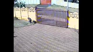 CCTV footage captures Gauteng gang cruising through area