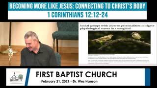 Adult Sunday school - February 21, 2021