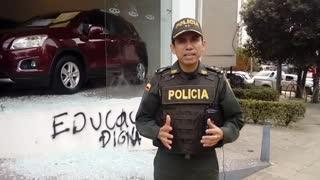 MEcub habla sobre desmanes en manifestaciones en Bucaramanga