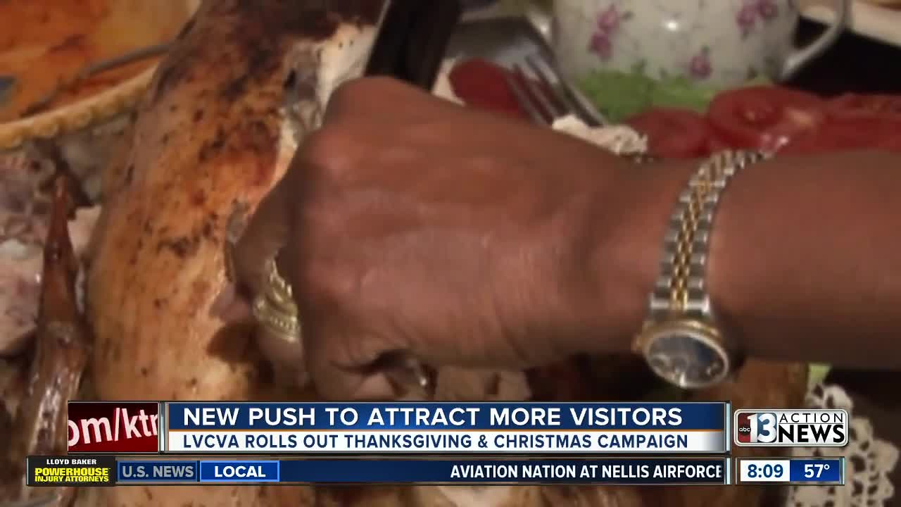 Las Vegas looks to attract holiday visitors