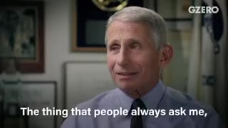 Fauci interview weeks before Covid
