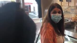 Mask Police Thrown Out Barrie Ontario