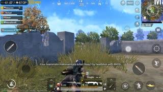 Defending House Against AWM Sniper Pubg game