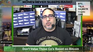 Money Never Sleeps Radio with Louis Velazquez, Feb 24, 2021