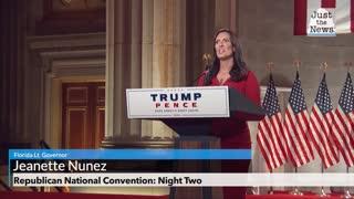 Republican National Convention, Florida Lt. Governor Jeanette Nunez Full Remarks