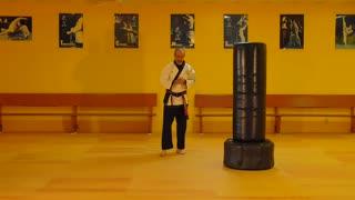 Little Samurang Orange Belt Yellow Tip