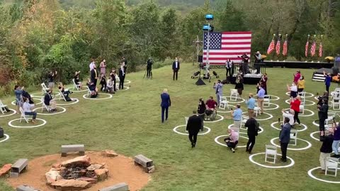 "Joe Biden's Entrance At His ""Rally"" Just Now Is the Most Embarrassing Thing I've Ever Seen"