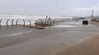 Stormy Blackpool