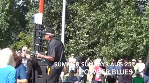 Powder Blues, Summer Sundays 2019