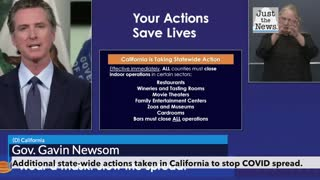 Gov. Newsom on additional state closings to stop the spread of COVID-19