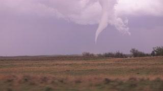 Chilling tornado footage captured in Eckley, Colorado