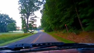 A driving video