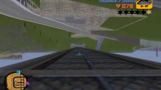 GTA 3 - stunt jumps on car, using 'CORNERSLIKEMAD' cheat (part 3)