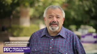 People's Party of Canada candidate for Scarborough Guildwood James Bountrogiannis.