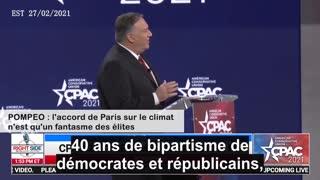 POMPEO : l'accord de Paris sur le climat n'est qu'un fantasme des élites