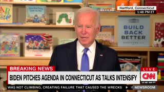 Biden: Where Is Jill? She's Now in New Jersey or Virginia, I'm Not Sure