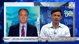 CNN's Tapper calls out Jon Ossoff for claiming Kelly Loeffler campaigned with a Klansman
