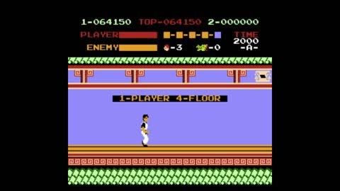 Kung-Fu Master NES Speedrun