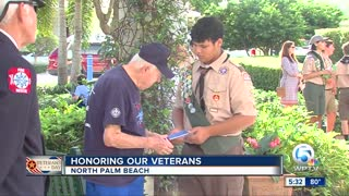 North Palm Beach honors veterans