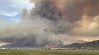 Massive damage as River Fire rages out of control in Salinas, California