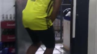 Guy Surprises Friend with Matchbox Gag