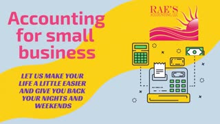 Rae's BookKeeping Accounting- Social Media Grabber Video