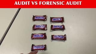 Audit VS Forensic Audit